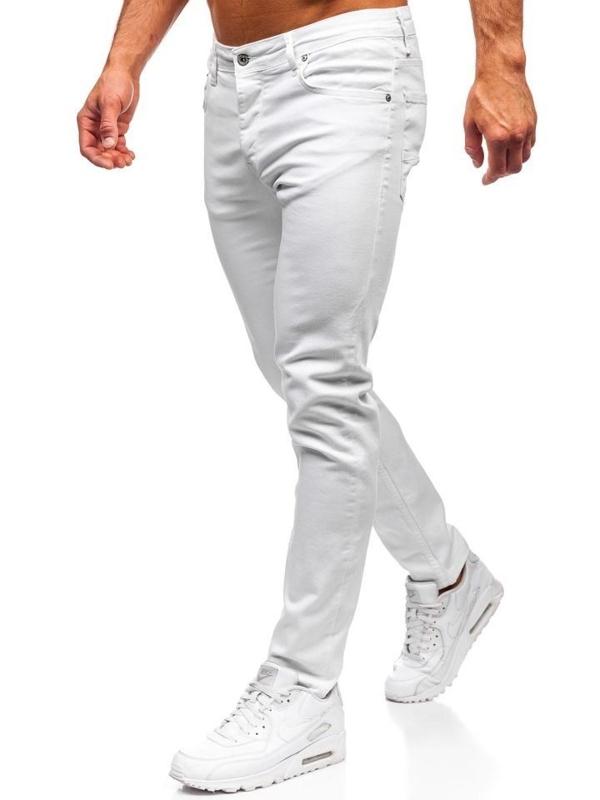 Джинсы мужские белые Bolf 55021