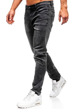 Мужские джинсовые брюки черные Bolf KX237