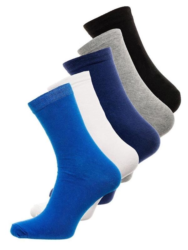 Мужские носки мультиколор Bolf X10003-5P 5 PACK