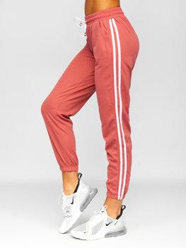 Розовые женские шорты Bolf YW01020D