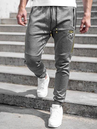 Графитные мужские спортивные брюки Bolf K10250