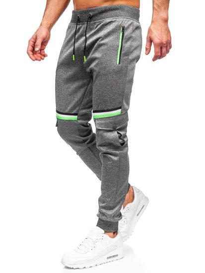 Графитные мужские спортивные брюки Bolf K10276