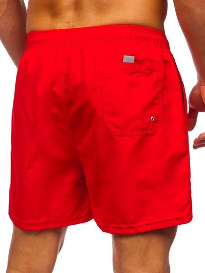 Красные мужские пляжные шорты Bolf YW02001
