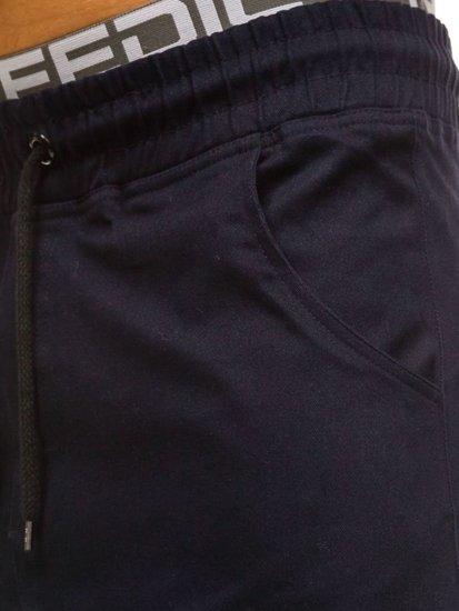 Мужские брюки багги темно-синие Bolf 0399