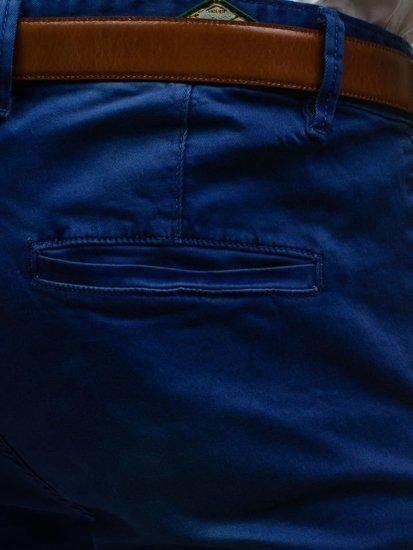 Мужские брюки чинос темно-синие Bolf 7315