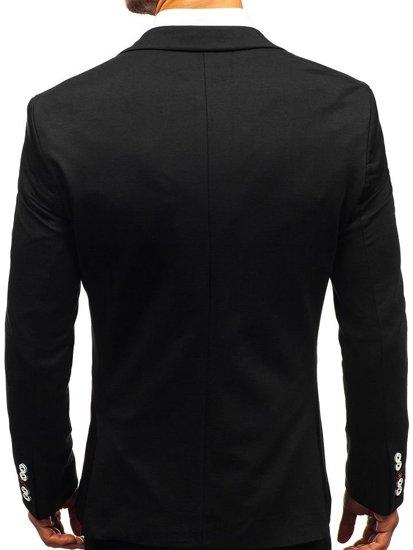 Мужской пиджак casual темно-синий Bolf 405