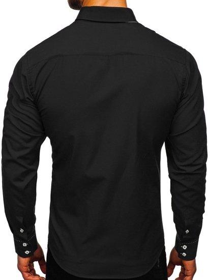 Рубашка мужская BOLF 1721-1 черная