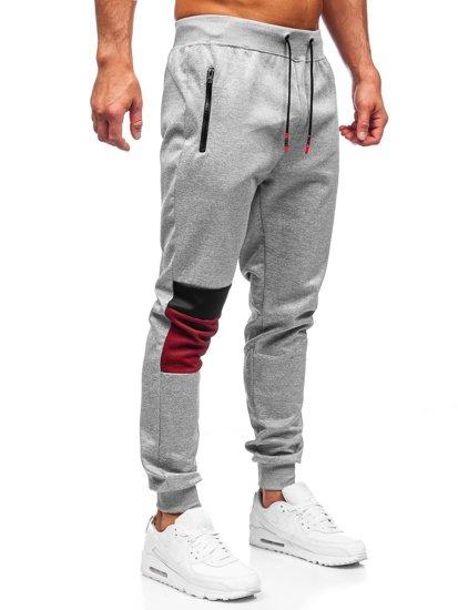 Серые мужские спортивные брюки Bolf K10122