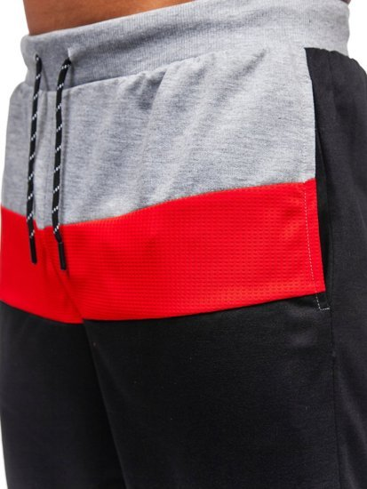 Серые мужские спортивные шорты Bolf KS2565