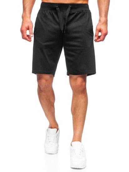Черные мужские спортивные шорты Bolf K10003