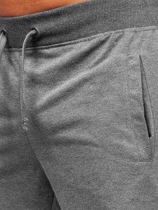 Графитовые спортивные шорты мужские Bolf K10003