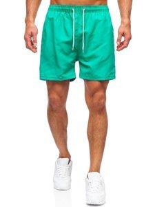Зеленые мужские пляжные шорты Bolf YW02001