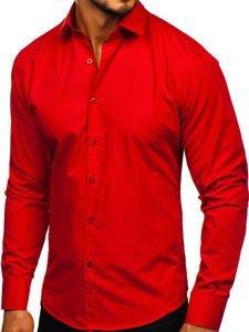Рубашка мужская BOLF 1703 красная