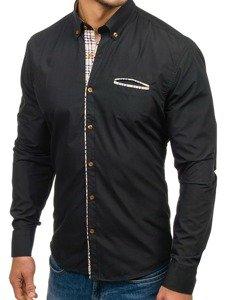 Рубашка мужская BOLF 5793 черная