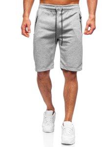 Серые мужские спортивные шорты Bolf JX132