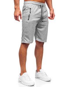 Серые мужские спортивные шорты Bolf JX203