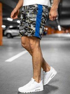 Серые мужские спортивные шорты Bolf KS2579