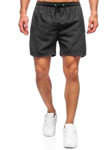 Черные мужские пляжные шорты Bolf YW07001
