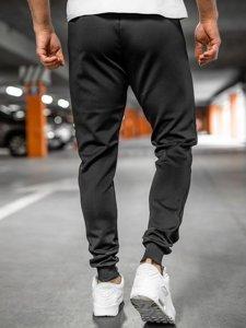 Черные мужские спортивные брюки Bolf K10238