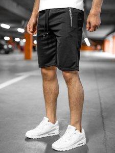 Черные мужские спортивные шорты Bolf JX203