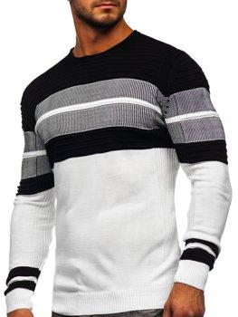 Білий чоловічий светр Bolf 1058