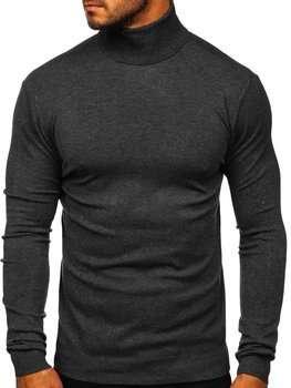 Графітовий чоловічий светр гольф Bolf YY02