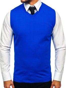 Жилет чоловічий синій Bolf 2500