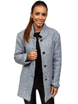 Жіноча пальто сіре Bolf 6011-1