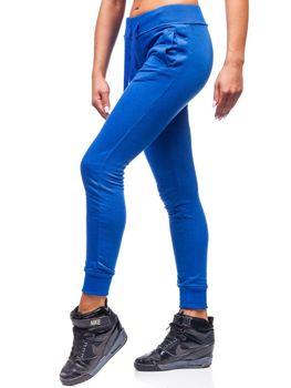 Жіночі спортивні штани волошкові Bolf WB11003