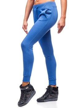 Жіночі спортивні штани сині Bolf WB11003