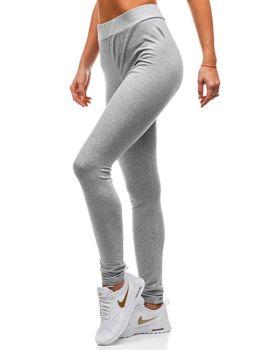 Жіночі спортивні штани сірі Bolf W9995