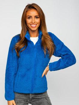 Синя флісова жіноча куртка Bolf HH006