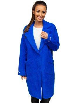 Синє жіноче пальто Bolf 20737