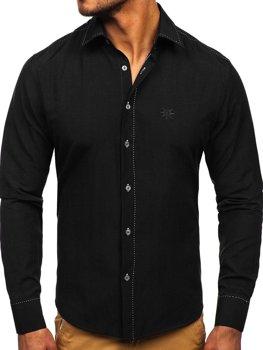 Сорочка чоловіча BOLF 4719 чорна