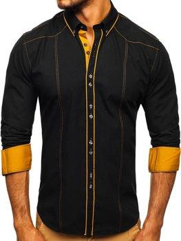 Сорочка чоловіча BOLF 4777 чорна
