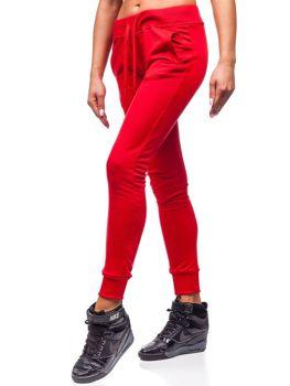 Спортивні штани жіночі червоні Bolf WB11003-А