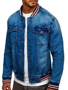Темно-синя джинсова куртка Bolf RB9908