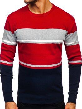Темно-синій чоловічий светр Bolf H2068