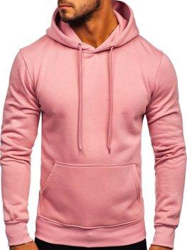 Толстовка чоловіча з капюшоном рожева Bolf 2009