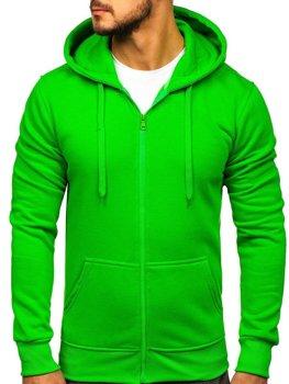 Толстовка чоловіча з капюшоном світло-зелена Bolf 2008