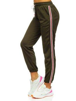 Хакі жіночі спортивні штани Bolf YW01020A