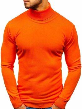 Чоловіча водолазка помаранчева Bolf 2400