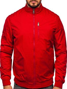 Чоловіча демісезонна куртка червона Bolf 1907