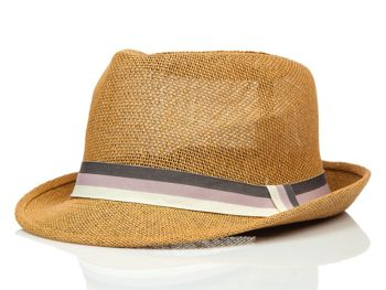 Чоловіча панама коричнева Bolf KAP214