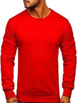 Чоловіча толстовка без капюшона червона Bolf BO-01