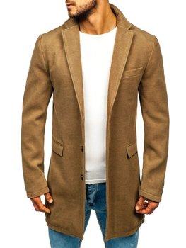 Чоловіче зимове пальто кемел Bolf 1047A