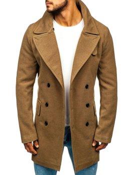 Чоловіче зимове пальто кемел Bolf 1048A