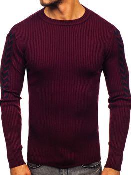 Чоловічий светр бордовий Bolf 360
