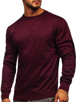 Чоловічий светр бордовий Bolf GFC01