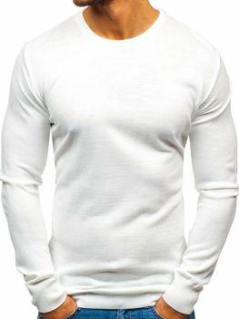 Чоловічий светр білий Bolf 2300